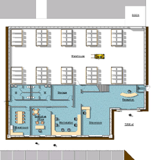 Building 6 - Footprint