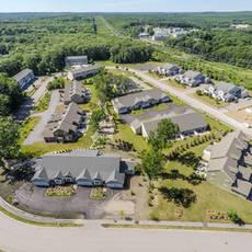Plainville multibuilding neighborhood aerial 9