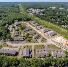 Plainville multibuilding neighborhood aerial 6