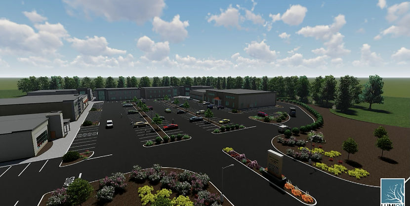 Virtual tour of 43 Taunton Business Park rendering in Plainville, MA, currently being developed by Heidke Development Corp