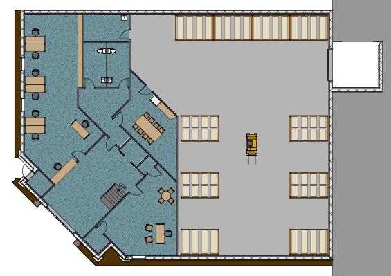 Building 7 - Footprint