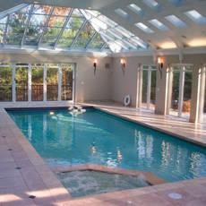 Custom indoor pool