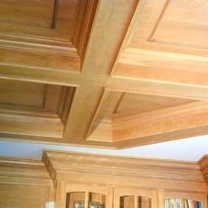 Custom ceiling woodwork