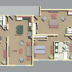 Apartment layout by HDC