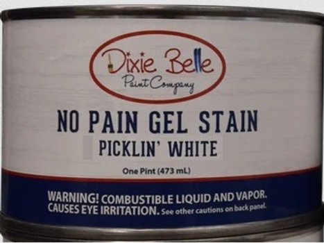 No Pain Gel Stain Picklin' White