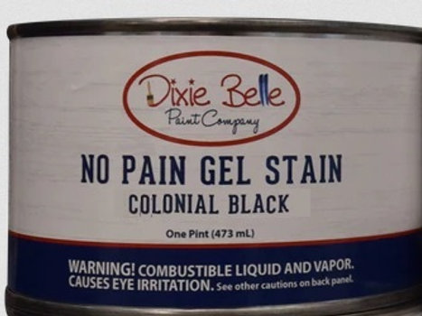 No Pain Gel Stain - Colonial Black