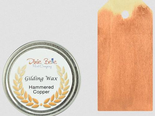 Gilding Wax Hammered Cooper