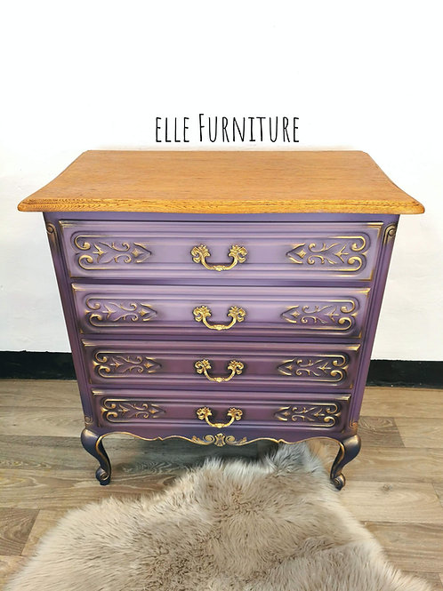 Purple Shadows Dresser