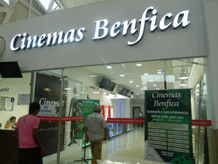 Novas Salas de Cinema do Shopping Benfica