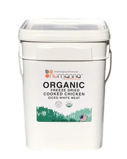 NuManna Organic Freeze Dried Cooked