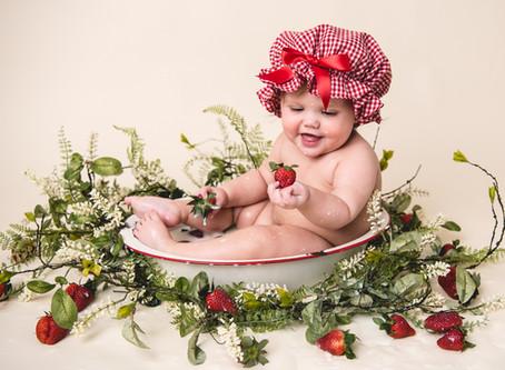 Strawberry Milk Bath