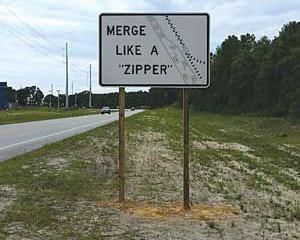 Merge Like A Zipper