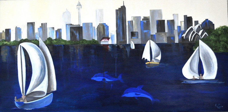 Sailing on Sydney Harbour