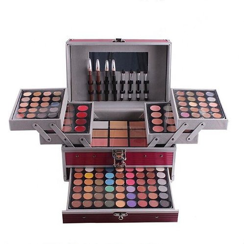 Luxury Beauty Miss Rose Eyeshadow Palette,Professional Make Up box (Pink)