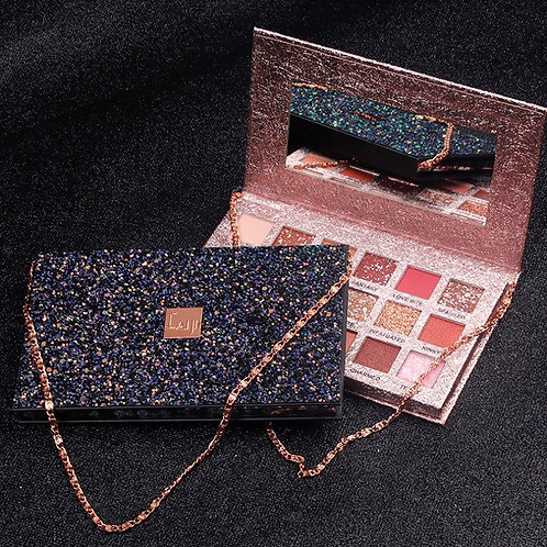 Luxury Beauty Caiji Eye Shadow Palette With Chain ProfessionaI Series