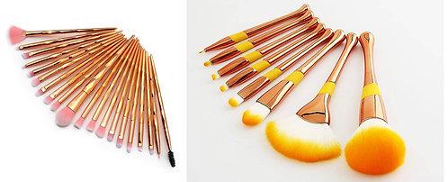 Luxury Beauty Rose gold Makeup Brushes 20pcs and 8pcs professional makeup brush