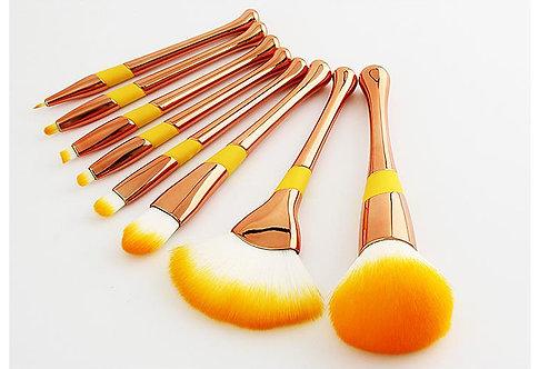 Luxury Beauty makeup brushes set - 8Pcs Natural Professional Makeup  Brushes