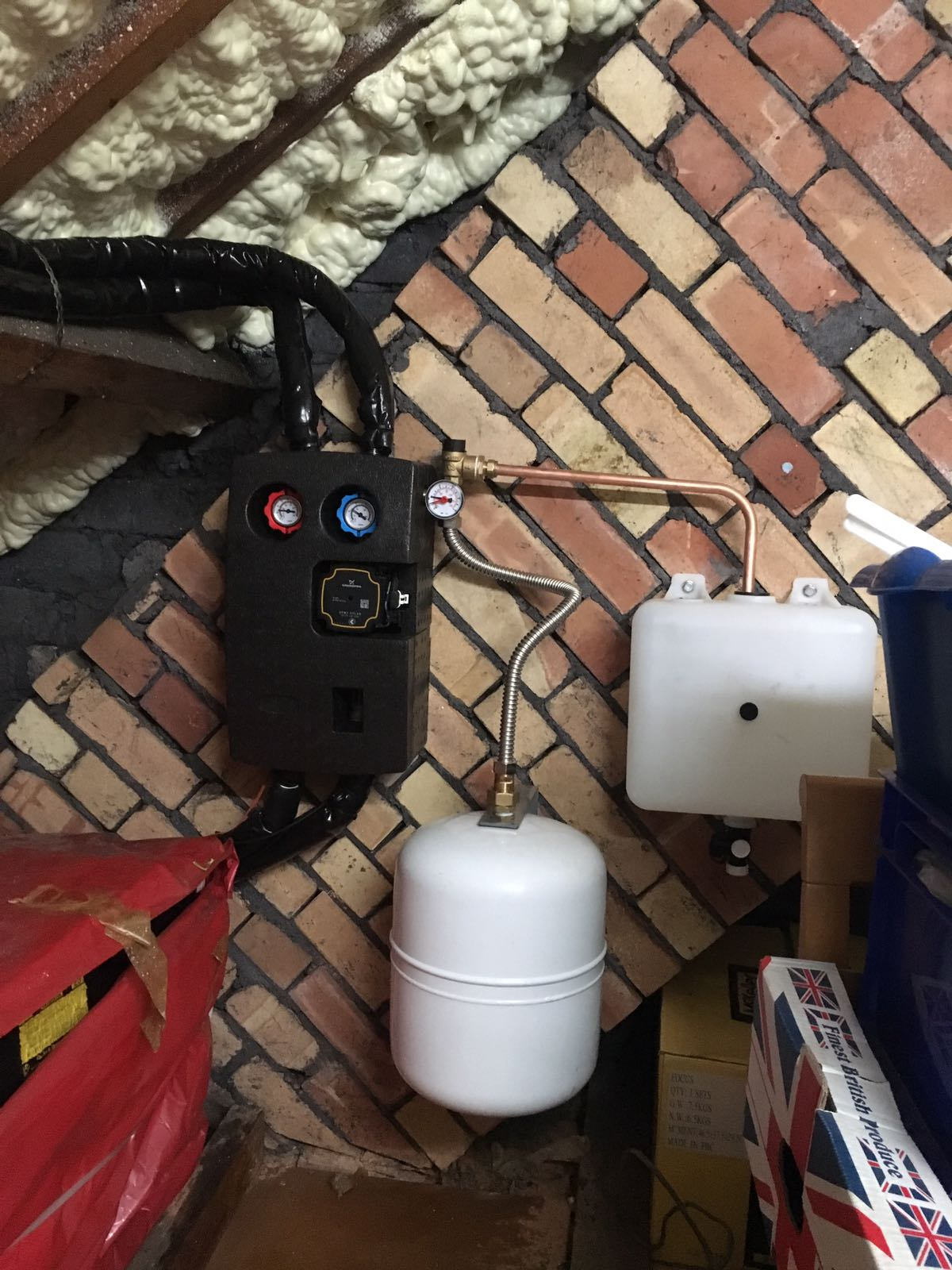 Thermal Pump Station
