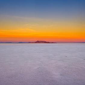 Salt Flats Earth Shadow