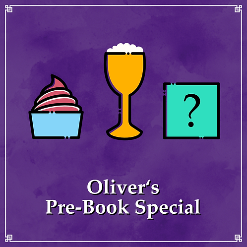 Oliver's Pre-Book Special