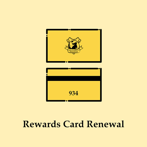 Rewards Card Renewal
