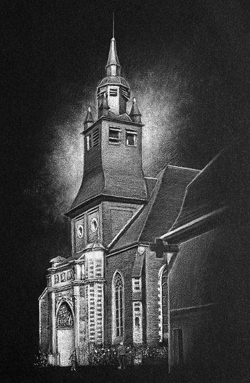 """""""L'église,Hesdin"""""""