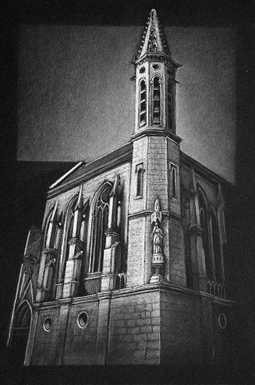 """La chapelle ,  Hesdin"""