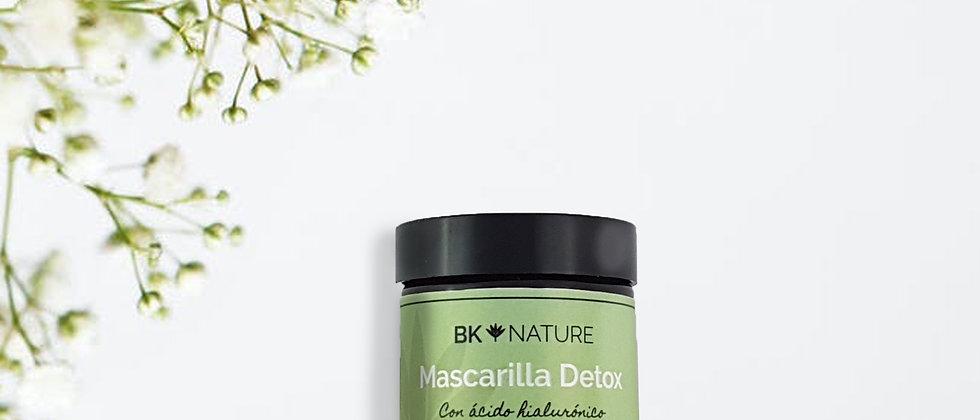 Mascarilla Detox (con ácido hialurónico)      60 ml