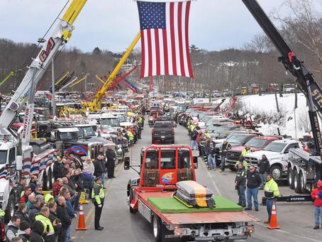 Hundreds Pay Tribute  To Dan Coady Jr.