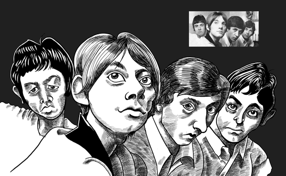 The Small Faces Caricature