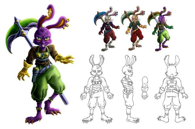 Character Concept Rendering