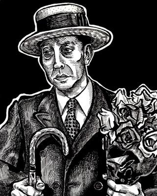 Buster Keaton Portrait