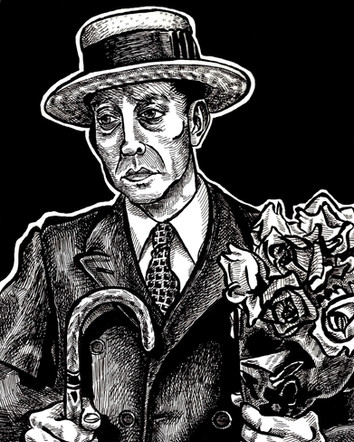 Spring 2018 Buster Keaton 8x10 Ink small