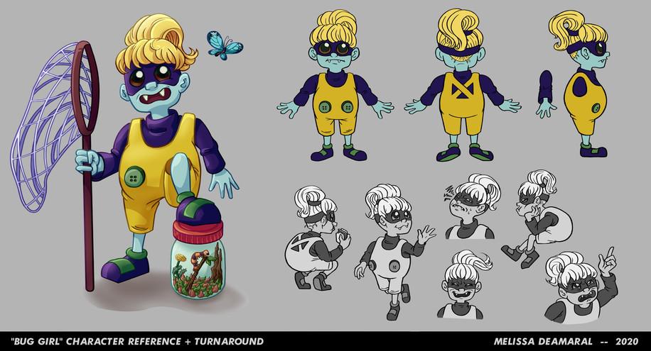 Bug Girl Concept Art