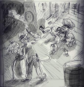 Sketch - Rocky Raccoon