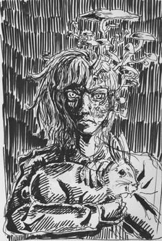 Sketch - White Rabbit