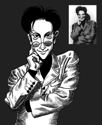 K. D. Lang Caricature