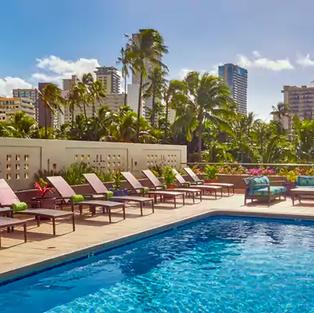 Hilton Hotel Alana Pool