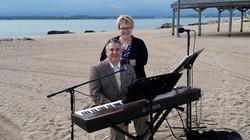 david website beach wedding with kerry lambert