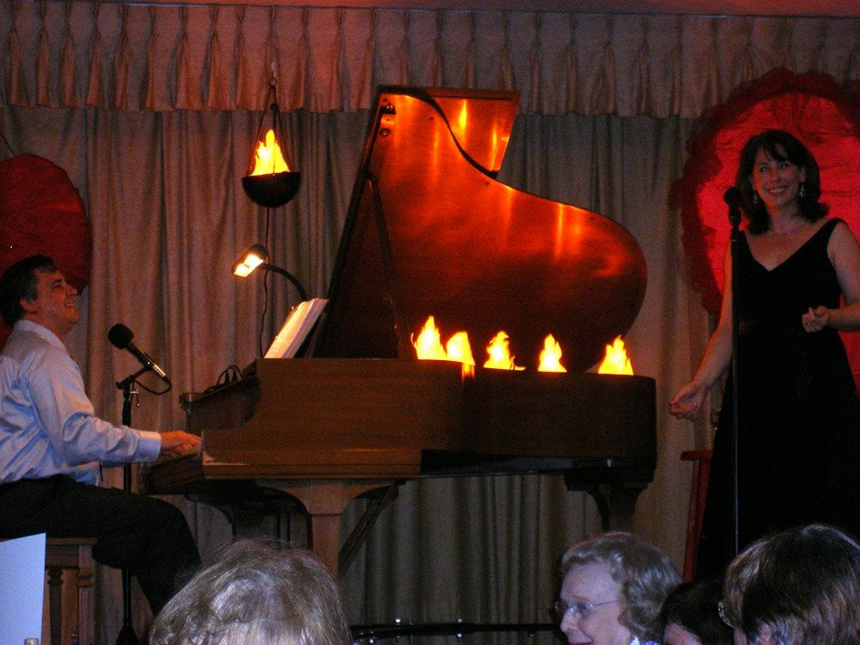 david website performing at watermark with mary richard and fire in piano