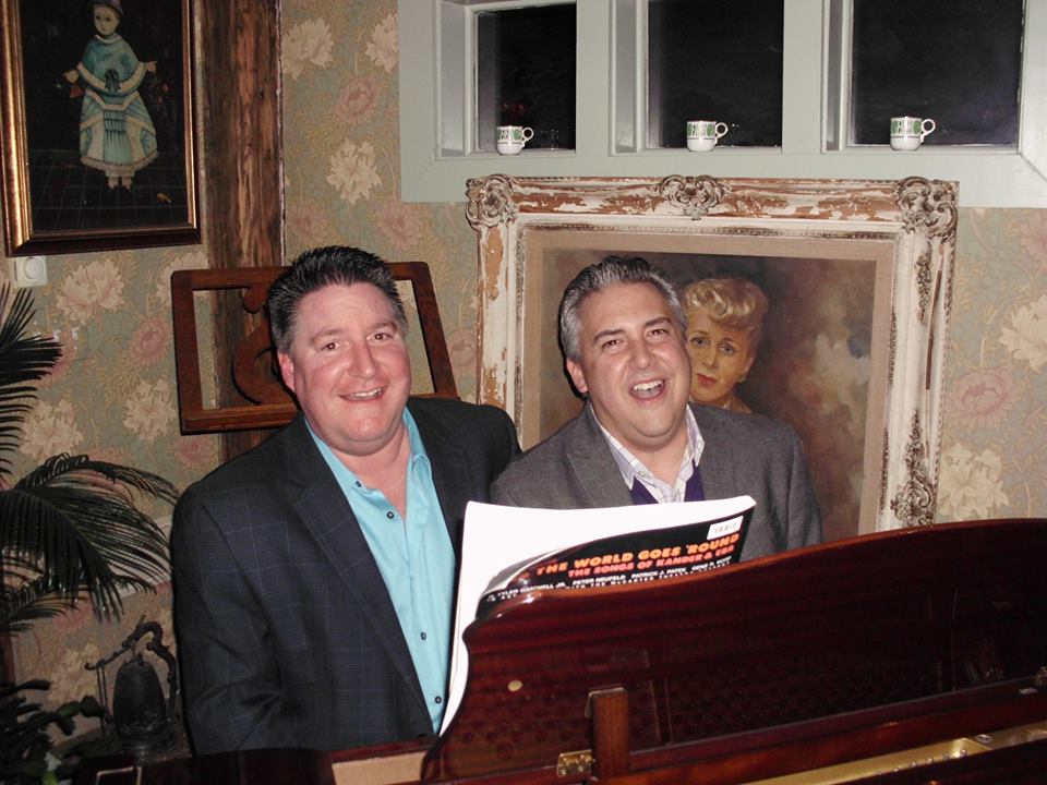 david website singing at a party with christopher olayos weston ct