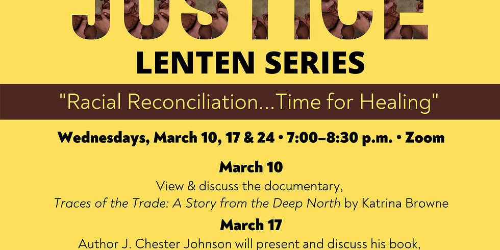 Social Justice Lenten Series hosted by St. Johns's Episcopal Church