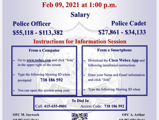 Virtual Job Information Session