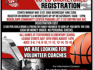 Woodlawn Summer Youth Basketball Registration Now Open