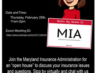 Maryland Insurance Administration's Open House