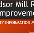 WINDSOR MILL RD PROJECT MEETING COMING APRIL 20