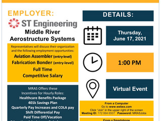 Job Opportunity on June 17th