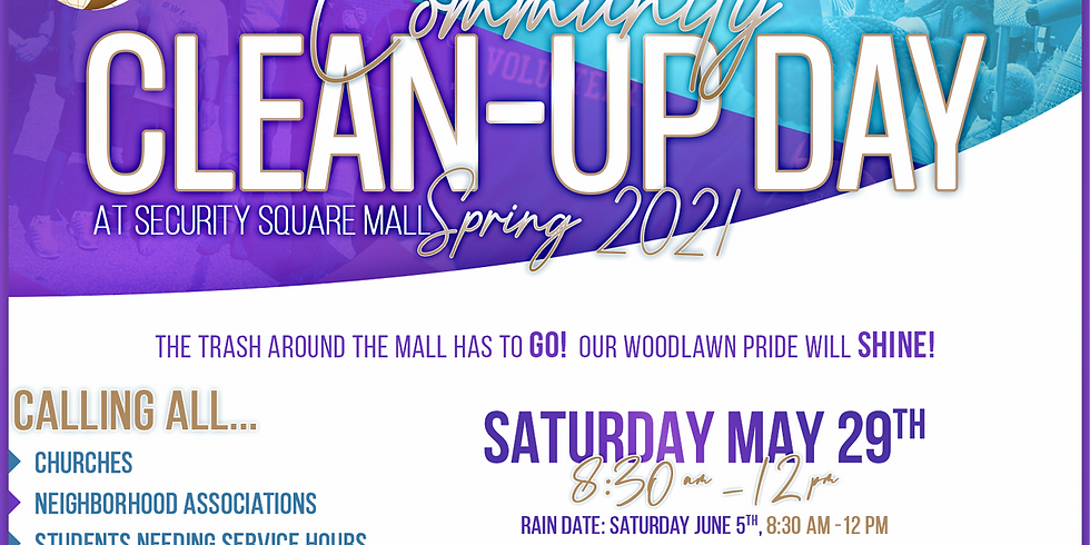 S.T.C.F. Community Clean-Up Day