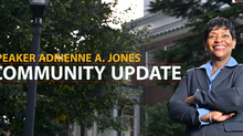 Community Update from Speaker Adrienne A. Jones