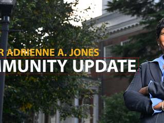 Community Update from Speaker Adrienne A. Jones